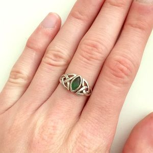 Celtic knot ring size 7